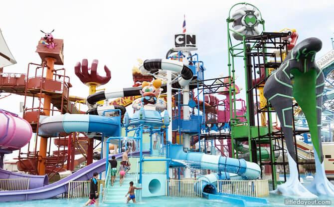 Cartoon Network Amazone Park, Pattaya, Thailand