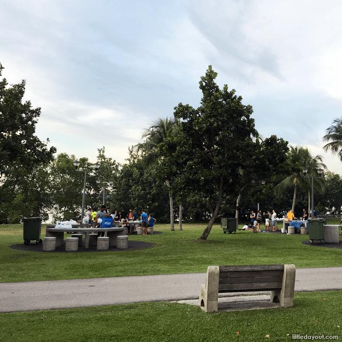 BBQ at Pasir Ris Park