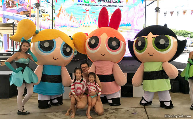 Meet & Greet at Cartoon Network Amazone Park