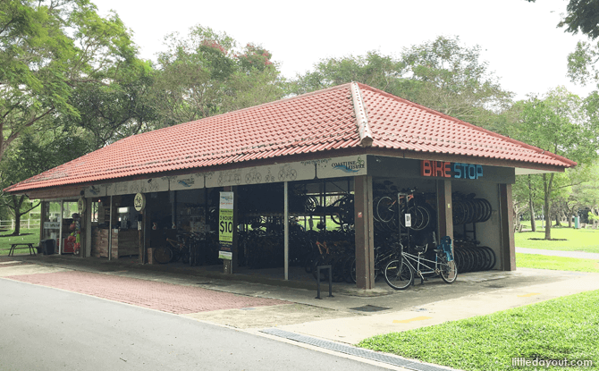 Bike Stop @ Pasir Ris