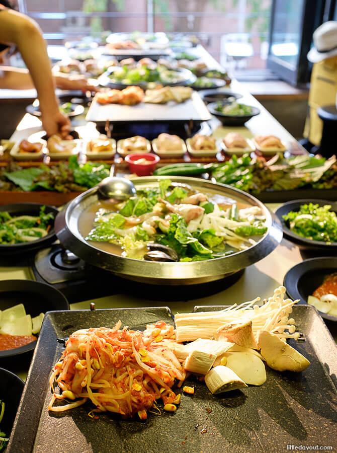 Dinner: 8 Flavor Samgyupsal Pork Near Dongdaemun Seoul