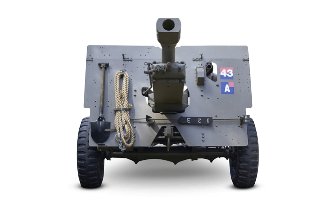 25 pounder field gun, Image Courtesy of the National Museum of Singapore, National Heritage Board