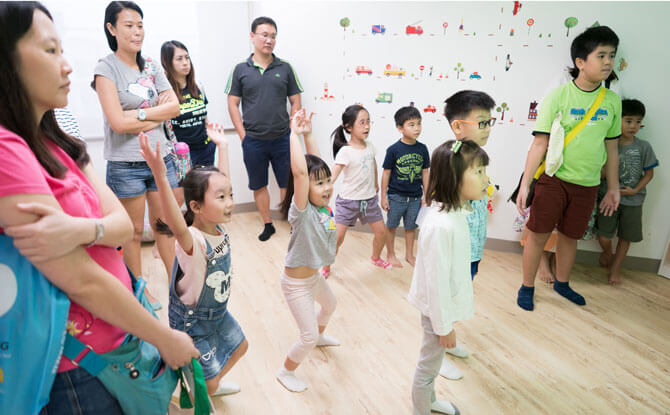 Little Day Outing to Hua Language Centre: Urban Treasure Hunt