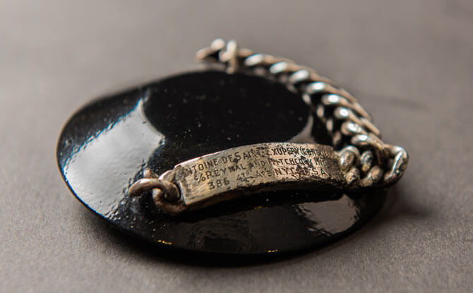 Bracelet of Antoine de Saint Exupéry