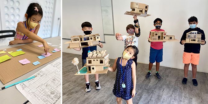 Design + Architecture 5 half-day Holiday Camp