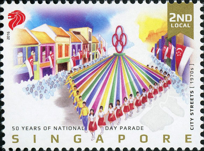 50 Years of National Day Parade