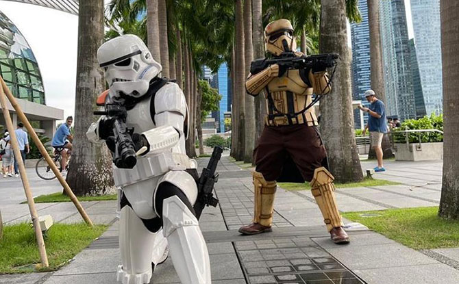 Star Wars Day 2021 in Singapore