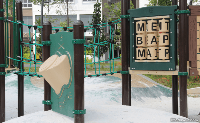 Interactive Panels at Forest Green Park