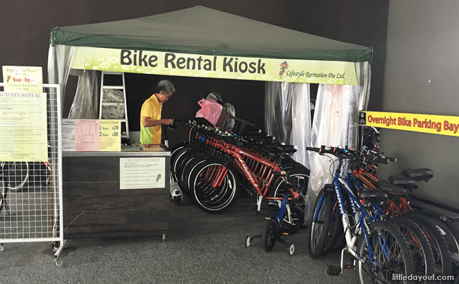 D'Resort Bike Rental Kiosk
