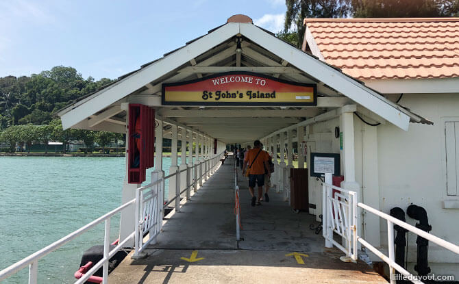 How To Get To St John's Island and Kusu Island