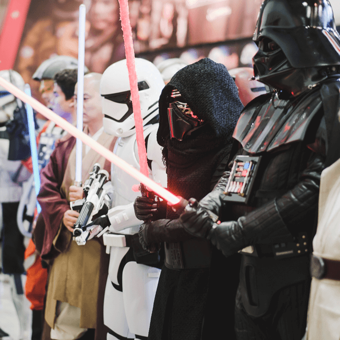 Star Wars: Experience the Force at STGCC