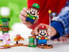 Have 2-Player Adventures With LEGO Super Mario Adventures with Luigi Starter Course