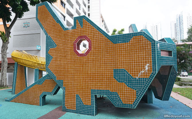 Ang Mo Kio Avenue 3 Dragon Playground