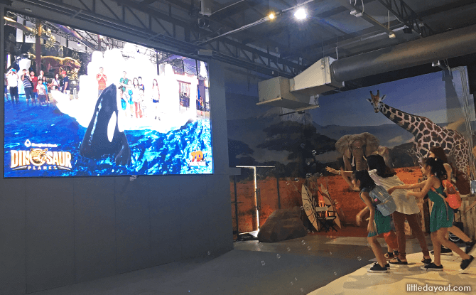 Get to meet AR wildlife at Dinosaur Planet