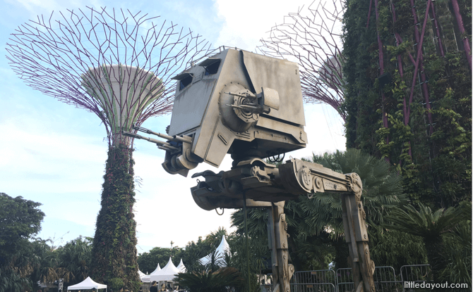 AT-ST Model, Gardens by the Bay
