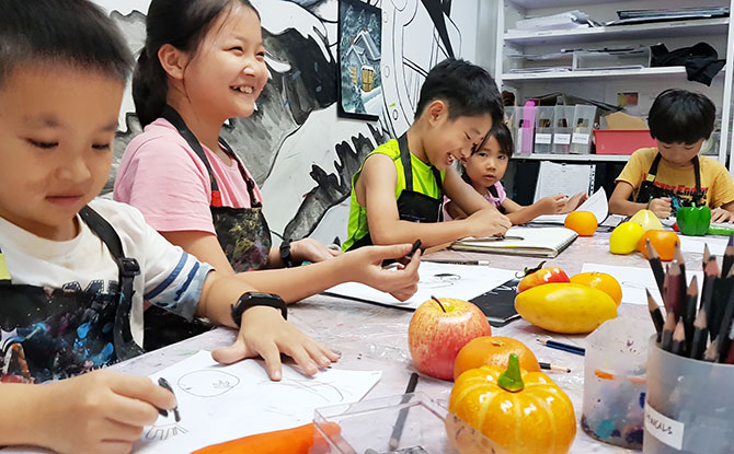 Achievers Arts Studio - Art Classes for Kids in Singapore
