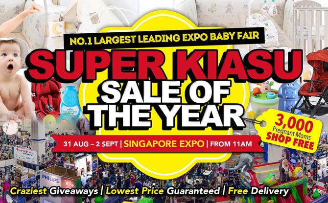 Supermom Baby Fair - End August 2018