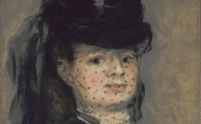 Madame Darras by Auguste Renoir