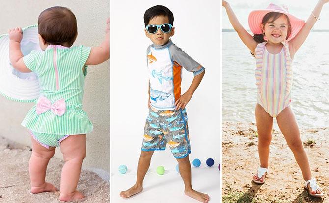 Baby Beachbums kids swimwear