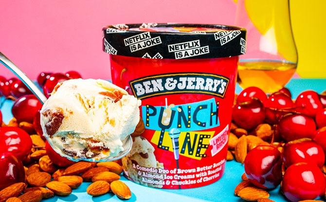 Limited Batch Ben & Jerry's Punch Line