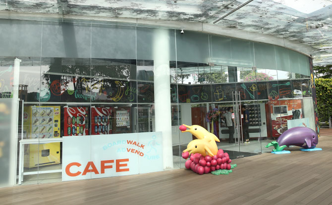Foodie Zone - Vending Machine Cafe