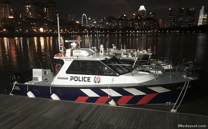 Police Coast Guard Boats