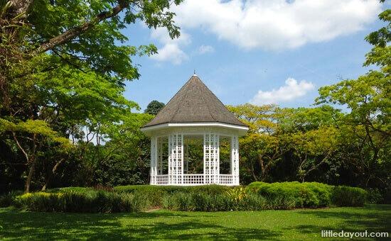 e Botanic Gardens Bandstand