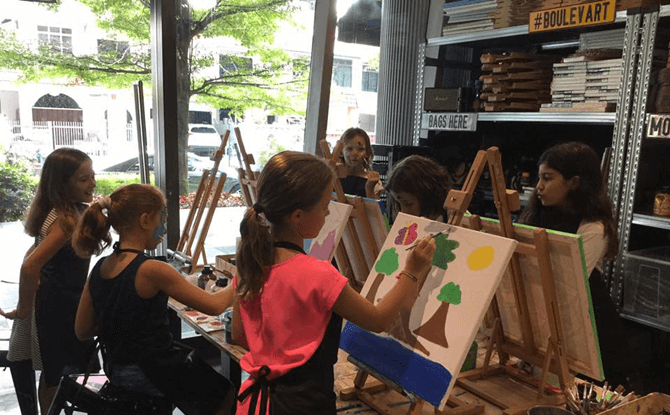 Bouleart, Art Jamming in Singapore