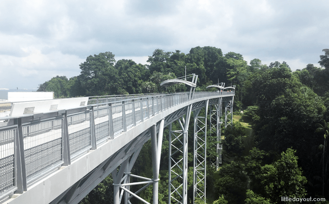 Skywalk Bridge to Fort Siloso