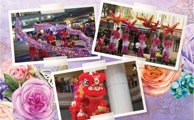 Lion Dance in Singapore 2021