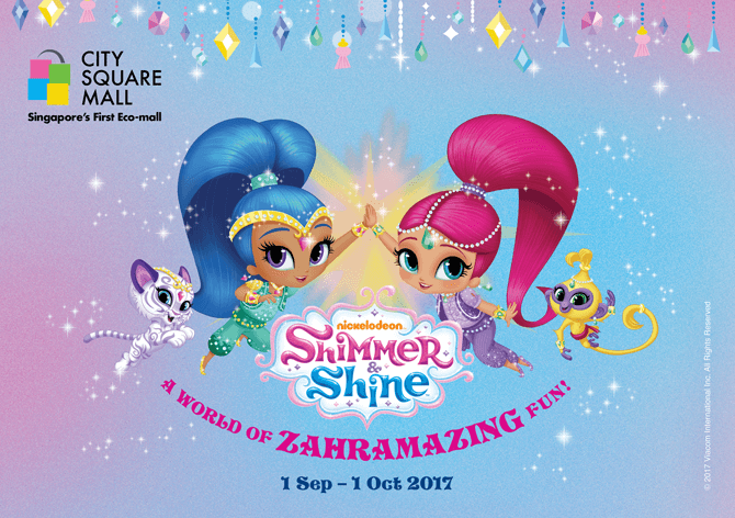 Shimmer & Shine at City Square Mall, September School Holidays 2017