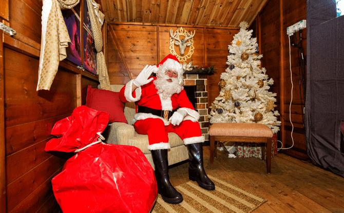 Santa's Grotto at Christmas Wonderland