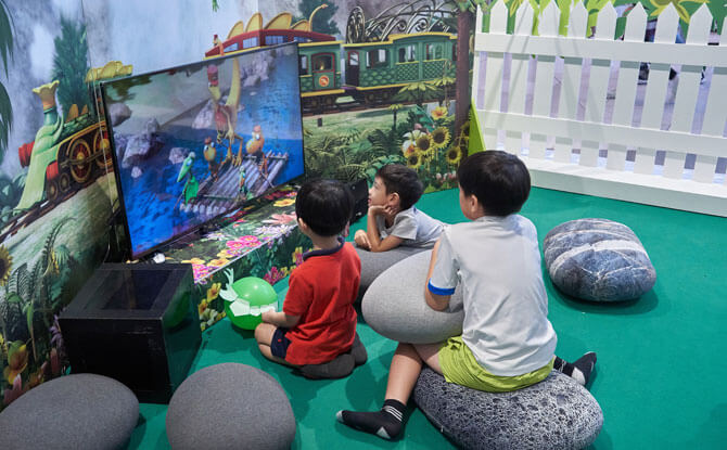 Free Activities at Rawr-ing Good Times with Dinosaur Train at Suntec City in June 2018