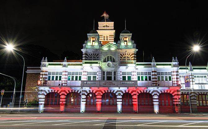 Civic District & Bras Basah Bugis National Day Light Up 2021