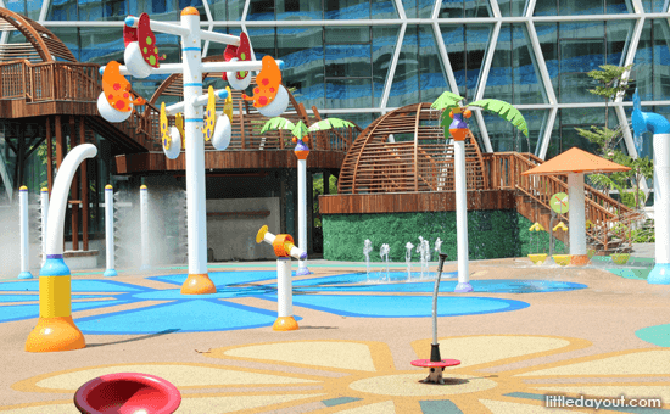 Changi City Point Water Playground