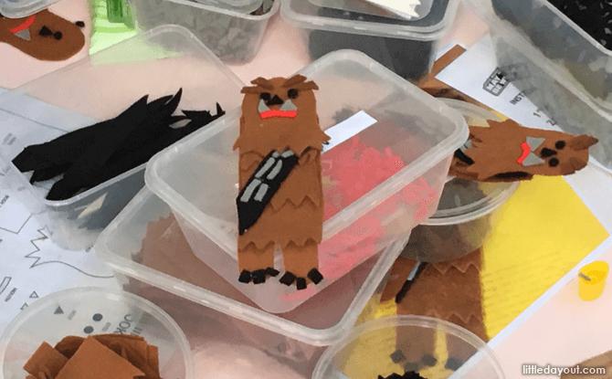 Chewbacca Felt Craft