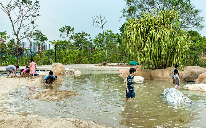 Clusia Cove, Water and Sand Play