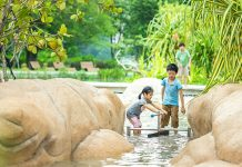 Clusia Cove: Water Play With A Beach And Tides At Jurong Lake Gardens