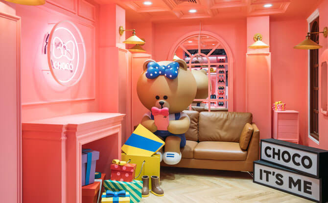 Choco's House at Line Village Bangkok