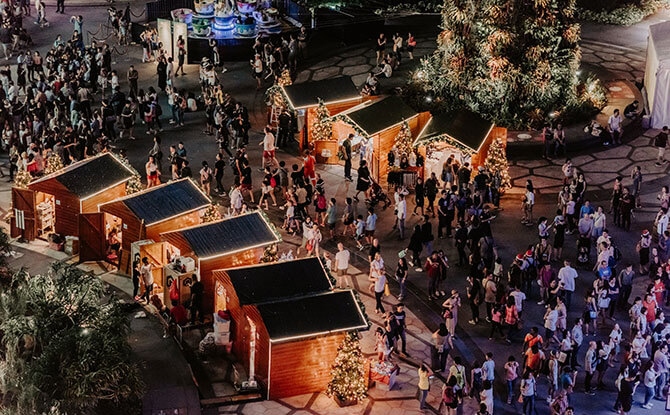 Christmas Village and Games