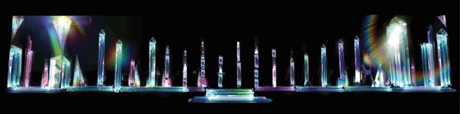 Chomascope - Installation at Light to Night Festival 2018