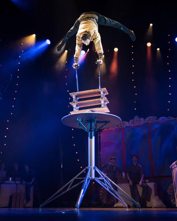 Rola bola act, Circus 1903