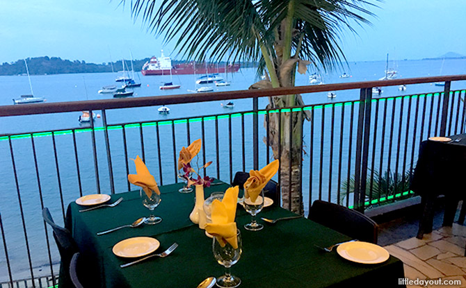 Waterfront Dining Spots in Singapore: Coachman Inn, Changi Sailing Club