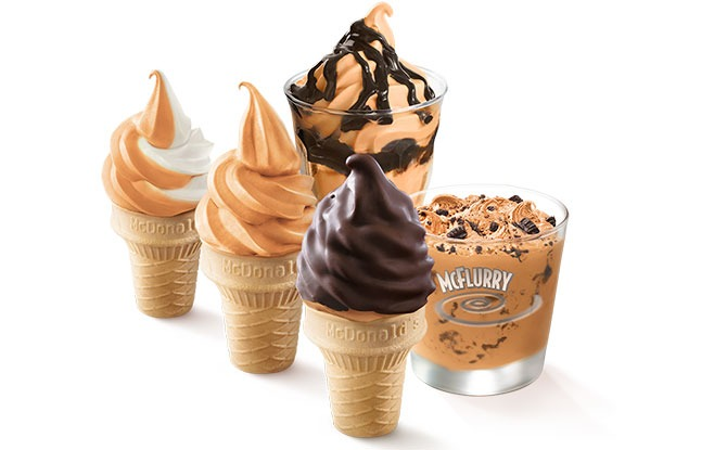 Sweet Desserts: Yuan Yang Ice Cream Softserve