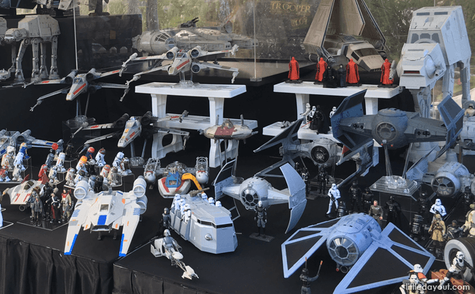 Contemporary Star Wars Toys