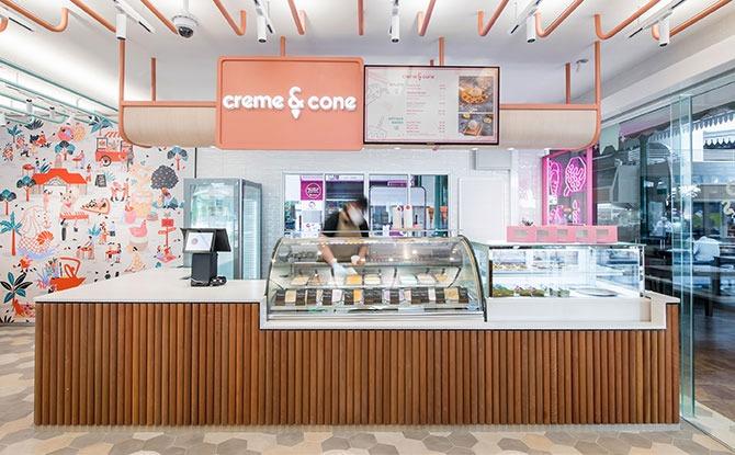 Creme and Cone
