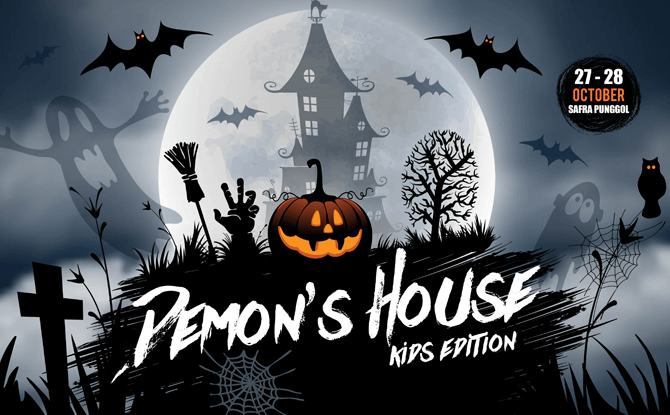 SAFRA Punggol's Halloween Event, Demon's House