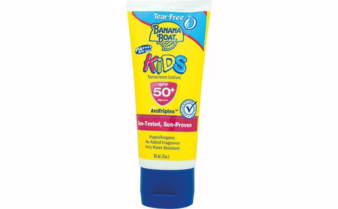 Banana Boat Sunscreen for Kids