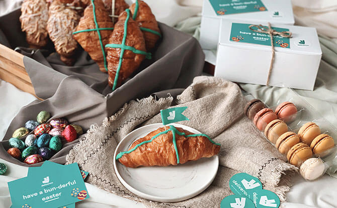 Deliveroo Is Giving Away Limited Edition Hot Cross Croissants This Weekend
