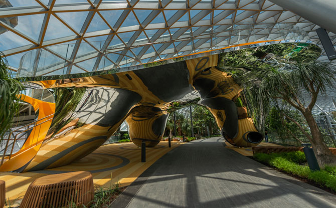 Discovery Slides at Canopy Park, Jewel